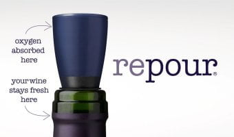 Repour – A Simple and Clever New Wine Saver