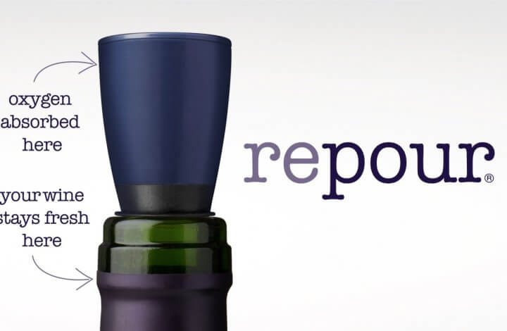 Repour - A Simple and Clever New Wine Saver