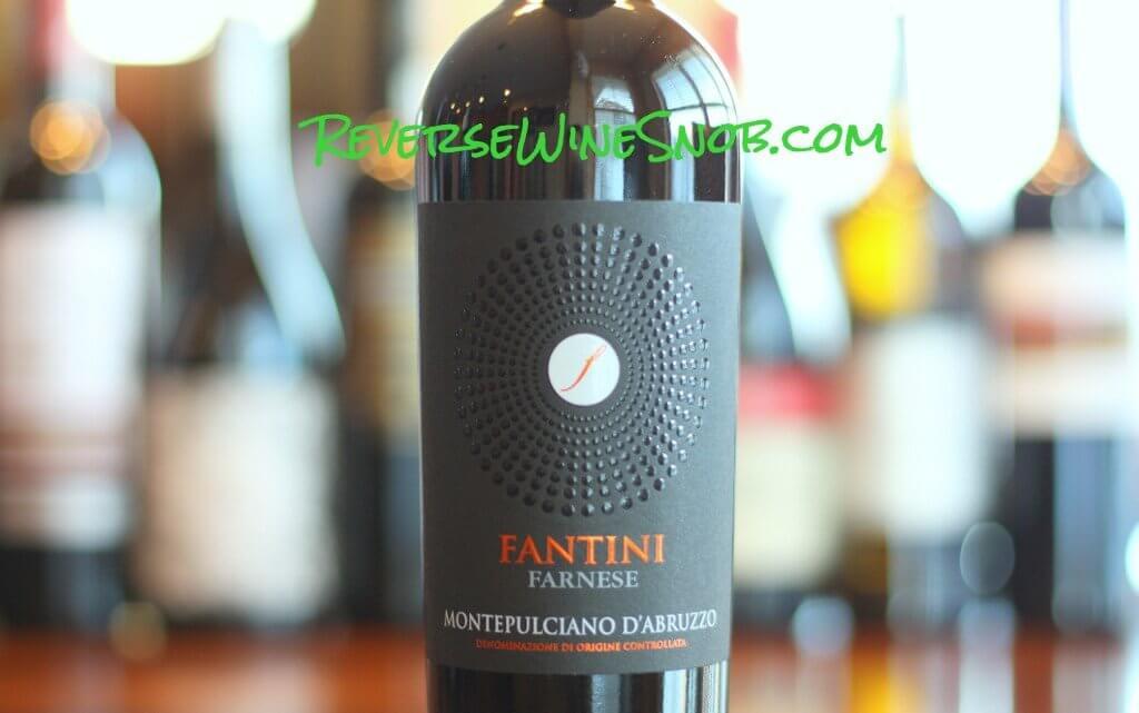 Fantini Farnese Montepulciano d'Abruzzo - Pleasant and Easy