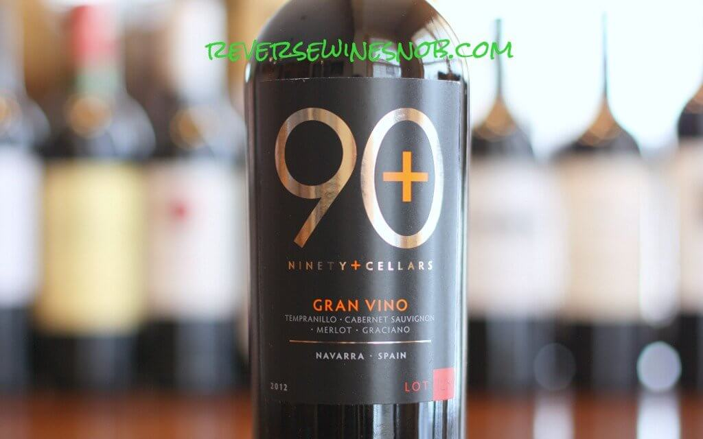 90 Plus Cellars Lot 128 Gran Vino - A Grand Tour of Taste