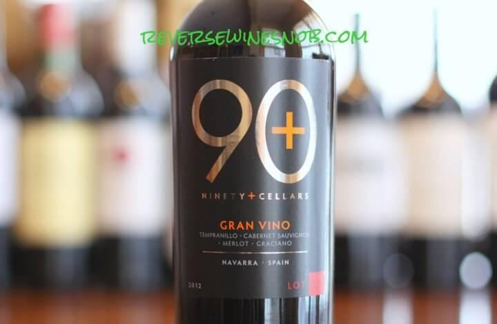 90 Plus Cellars Lot 128 Gran Vino - A Grand Tour of Taste