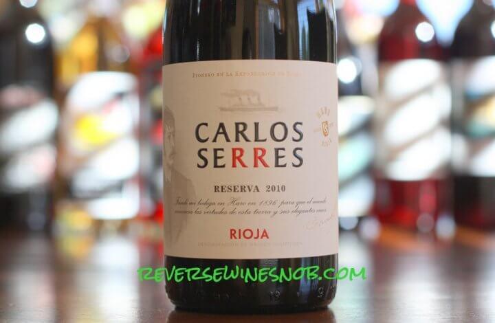 Carlos Serres Reserva - Silky Smooth Rioja Goodness