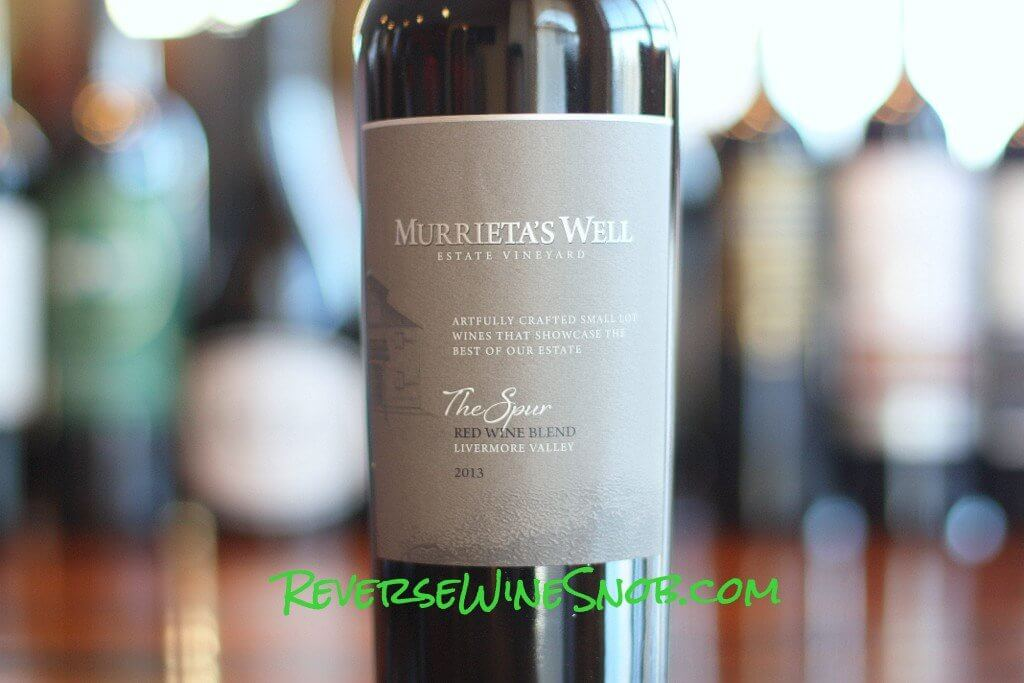 Murrieta's Well The Spur Red Blend - A Thoroughbred of a Red Blend