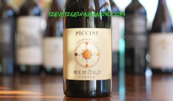 Piccini Memoro Rosso – Smooth and Sweet