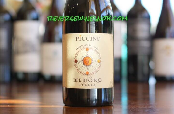 Piccini Memoro Rosso - Smooth and Sweet