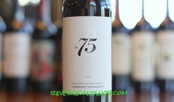 Seventy Five Wine Company Cabernet Sauvignon – A 92