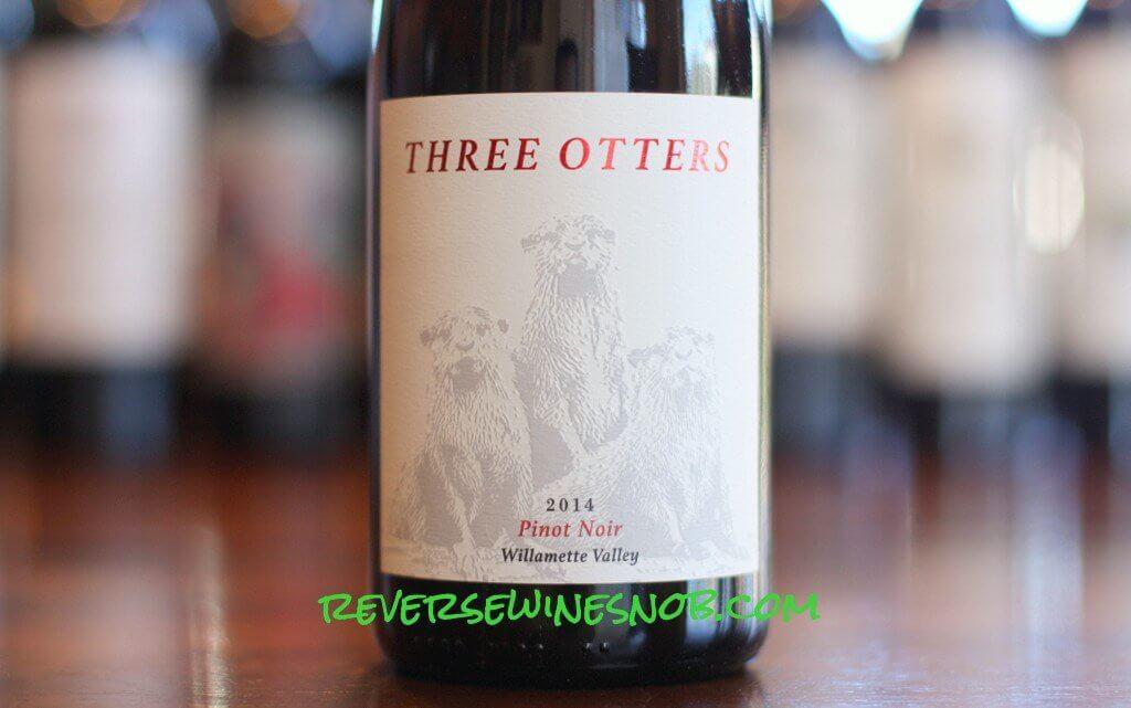 Fullerton Three Otters Pinot Noir - Delightful