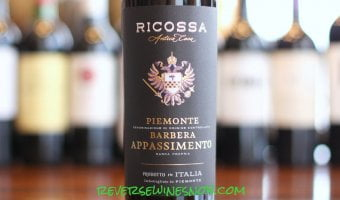 Ricossa Antica Casa Piemonte Barbera Appassimento – One-of-a-Kind!