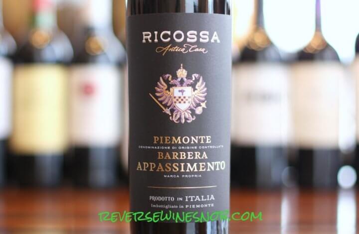 Ricossa Antica Casa Piemonte Barbera Appassimento - One-of-a-Kind!