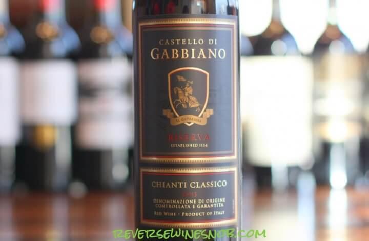 Castello di Gabbiano Chianti Classico Riserva - Classic Indeed!