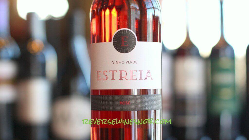Estreia Vinho Verde Rosé - Sweet, Pink and Bubbly