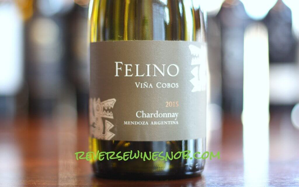 Vina Cobos Felino Chardonnay - Toasty!