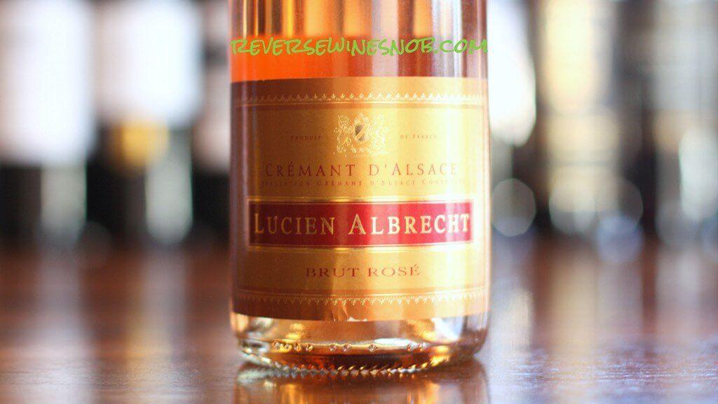 Lucien Albrecht Crémant d'Alsace Brut Rosé - Strawberry Fields Forever