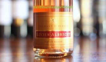 Lucien Albrecht Crémant d'Alsace Brut Rosé – Strawberry Fields Forever