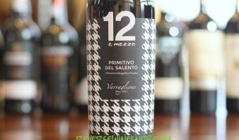 12 e mezzo Primitivo del Salento – Rich and Luscious