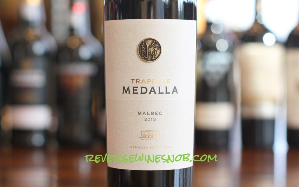 Trapiche Medalla Malbec - A Treat For Your Tastebuds