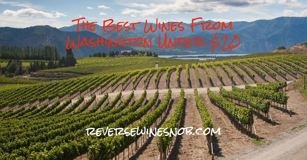 The Best Washington Wine - The Reverse Wine Snob Picks!