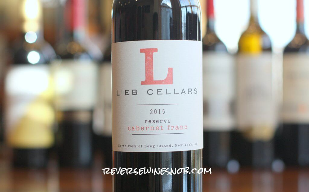 & Lieb Cellars Reserve Cabernet Franc - A Lovely From Long Island