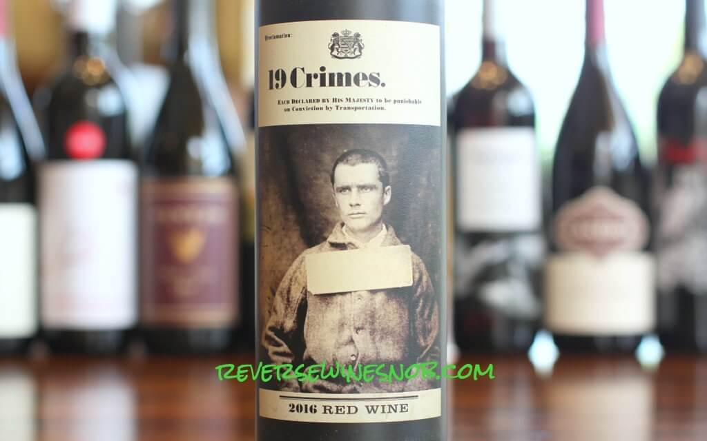 19 Crimes Red Blend - Wanted For Extreme Value