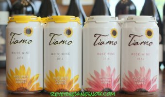 Tiamo Organic Wines in a Can - The Complete Package