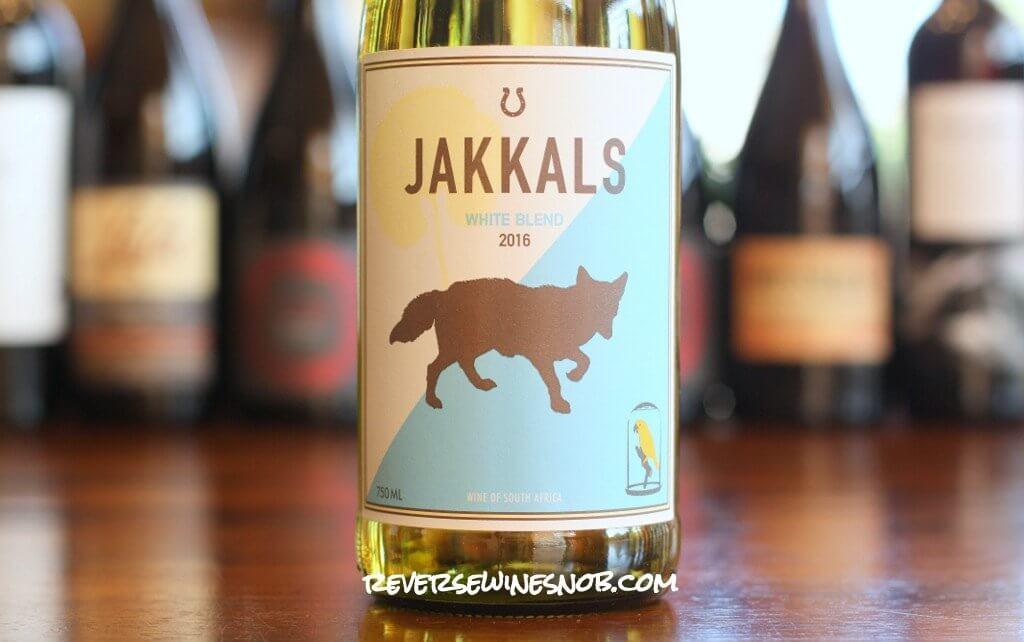 Jakkals White Blend - A Six Dollar Superstar