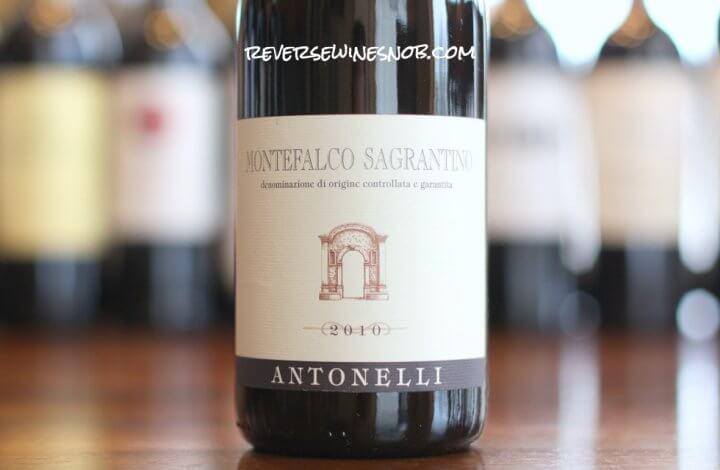 Antonelli Montefalco Sagrantino - Splendid!