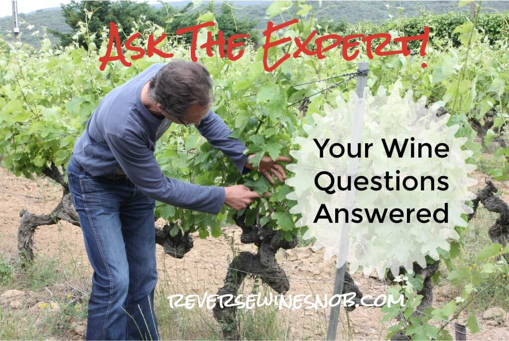 Ask The Expert - Your Questions About Wine Answered!