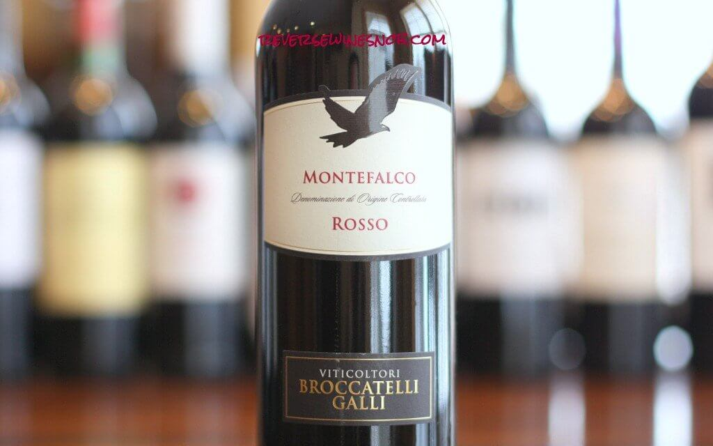 Viticoltori Broccatelli Galli Montefalco Rosso - Big, Dry and Delicious