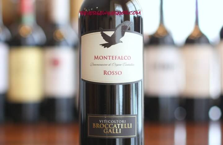 Viticoltori Broccatelli Galli Montefalco Rosso - Big, Dry and Delicious