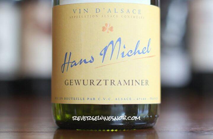 Hans Michel Gewurztraminer - Vibrant and Delicious
