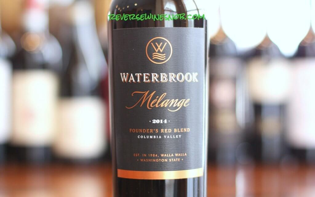 Waterbrook Melange - A Real Red Blend