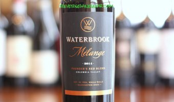 Waterbrook Melange – A Real Red Blend