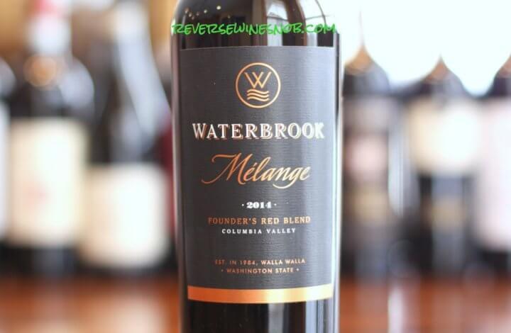 Waterbrook Melange - A Real Red Blend