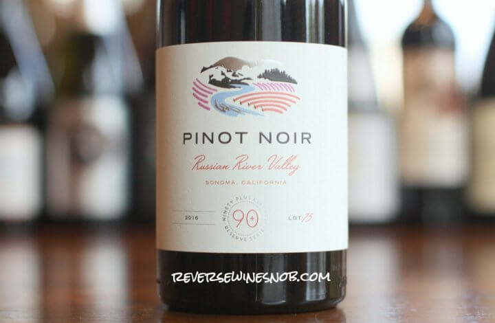 90 Plus Cellars Russian River Valley Pinot Noir Lot 75 - Stunning!