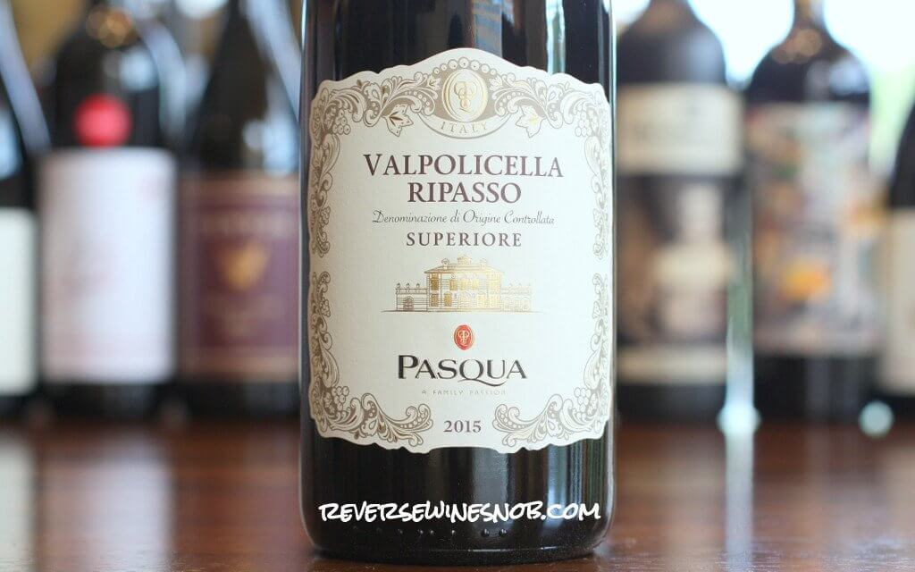 Pasqua Valpolicella Ripasso Superiore - A Fab Food Wine