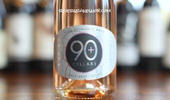 90 Plus Cellars Lot 49 Sparkling Rosé - Beautiful (Pink) Bubbles