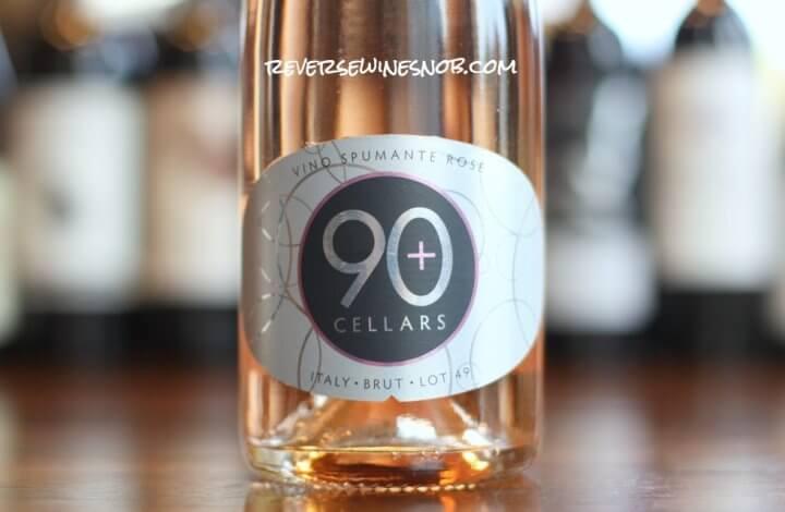 90 Plus Cellars Lot 49 Sparkling Rosé - Beautiful (Pink) Bubbles