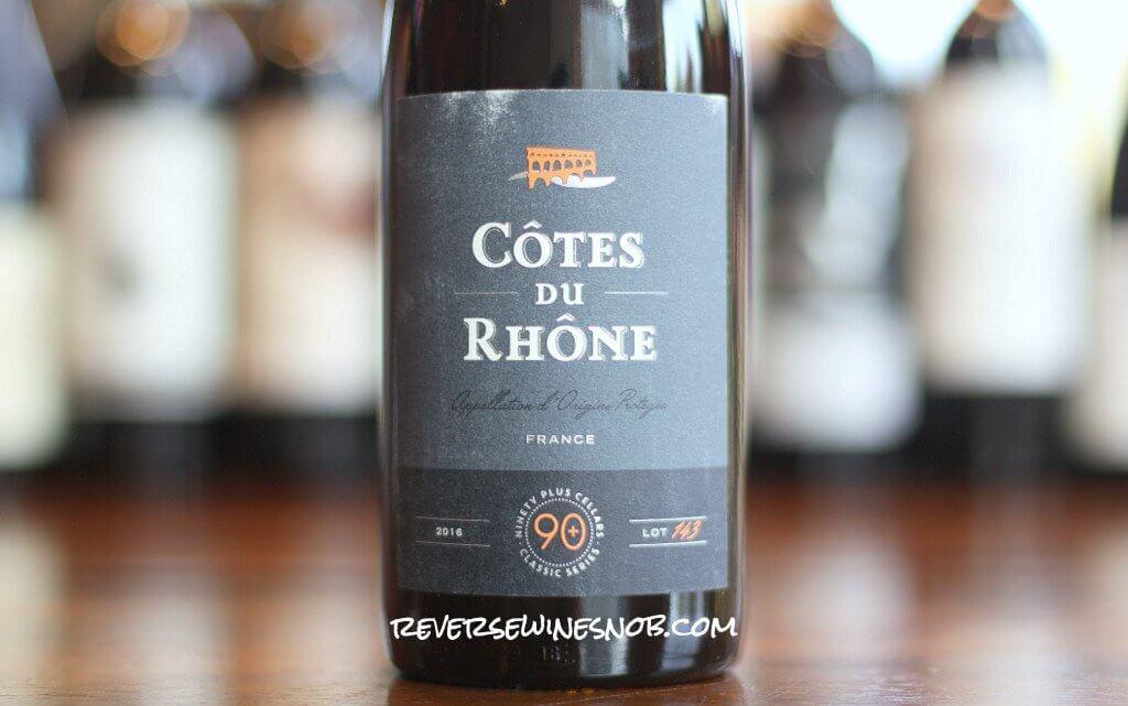 90 Plus Cellars Classic Series Chianti Riserva and Cotes du Rhone - Everyday Values
