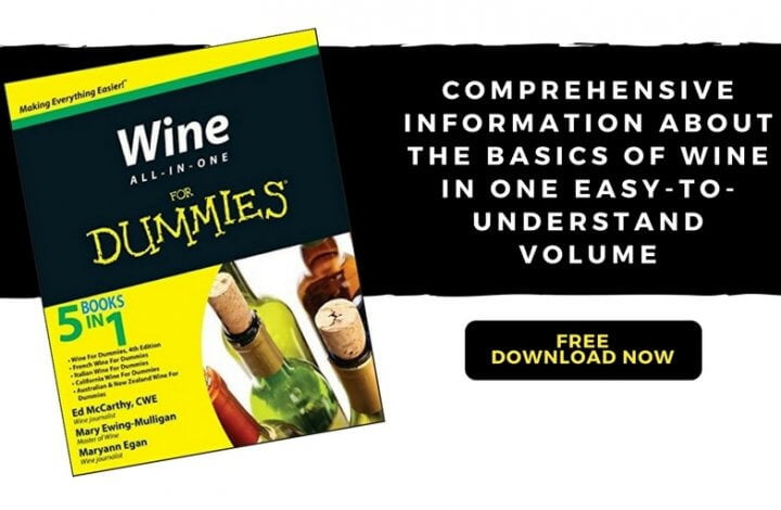 Wine All-In-One For Dummies Free eBook ($16 value) - Make Your Wine Experience Complete
