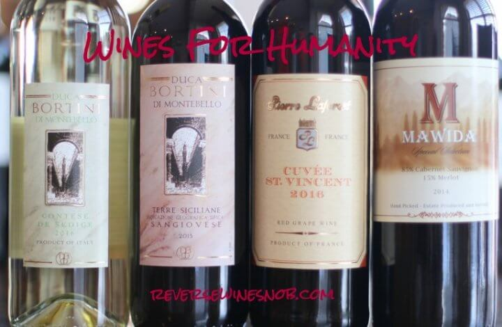 Wines For Humanity - For The Betterment of Mankind