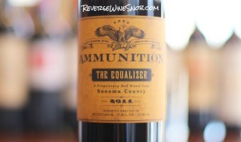 Ammunition Wines The Equalizer Red Blend – Bullseye!
