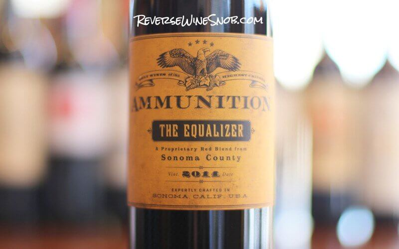 Ammunition Wines The Equalizer Red Blend - Bullseye!