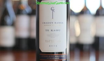 Craggy Range Te Kahu Gimblett Gravels - Proof That New Zealand Offers A Lot More Than Sauvignon Blanc