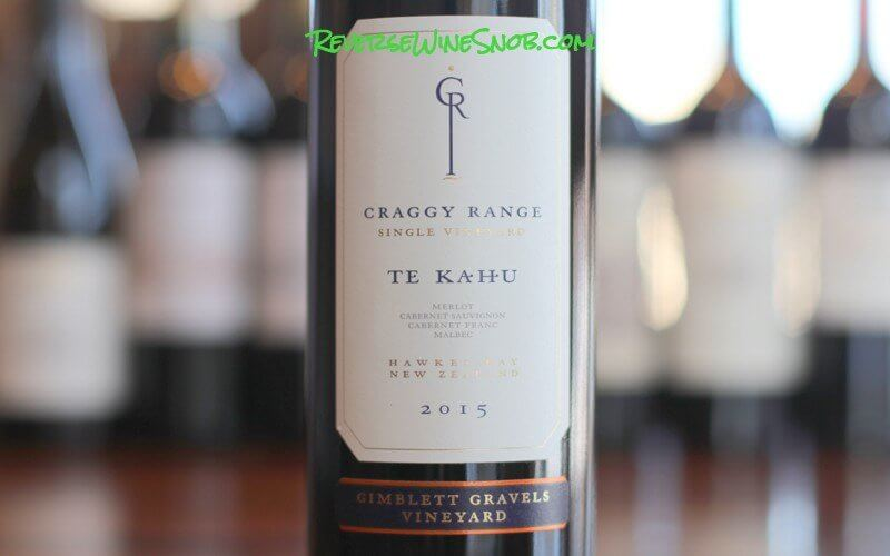 Craggy Range Te Kahu Gimblett Gravels - Proof TNew Zealand Offers Much More Than Sauvignon Blanc