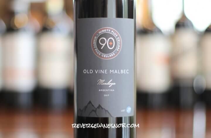 90 Plus Cellars Lot 23 Old Vine Malbec - Magnificent Malbec