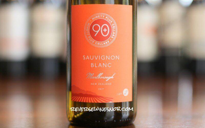 90 Plus Cellars Sauvignon Blanc Lot 2 - Superb