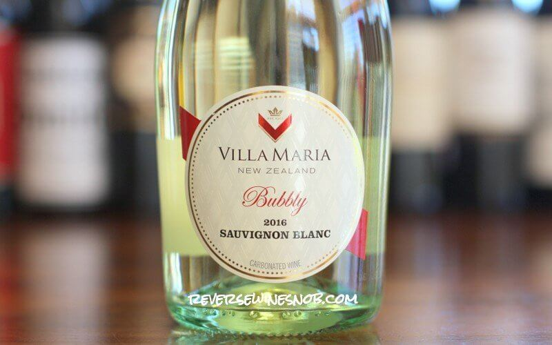 Villa Maria Bubbly Sauvignon Blanc - A Delicious Twist