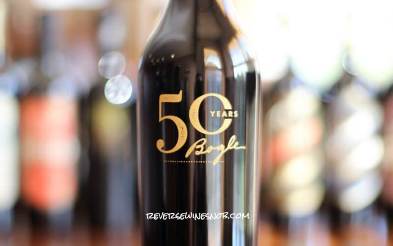 Bogle Vineyards 50th Anniversary Reserve Petite Sirah - YUM!