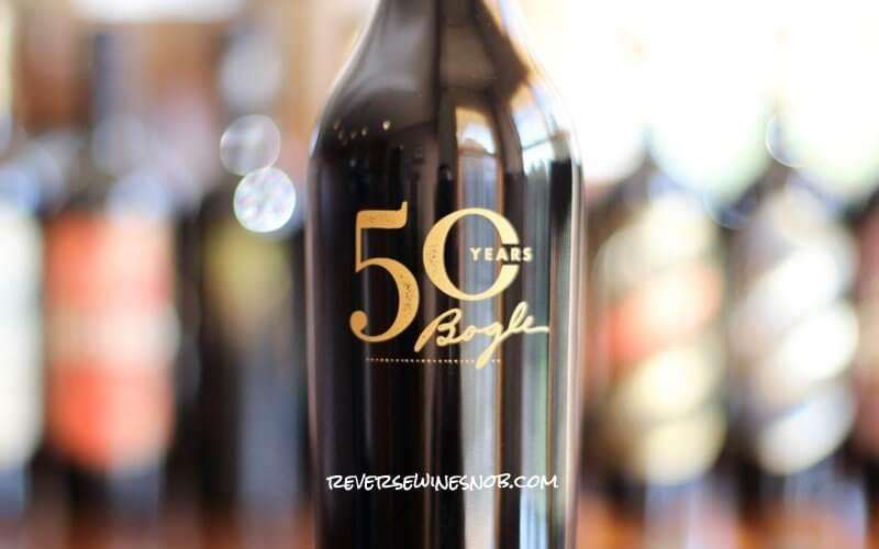 Bogle Vineyards 50th Anniversary Reserve Petite Sirah - YUM!
