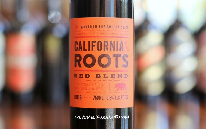 Target California Roots Red Blend - Surprisingly OK